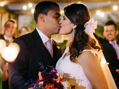 Marília + Luan: From Childhood Sweethearts to Lifelong Soulmates - A Sentimental Real Wedding in São Paulo
