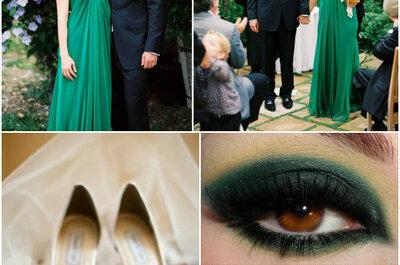 Szmaragdowe wesele, czyli najmodniejszy kolor 2013 roku motywem przewodnim Twojego ślubu