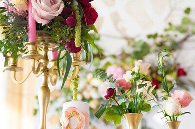 Trendy 2015: Róże na Twoim weselu!
