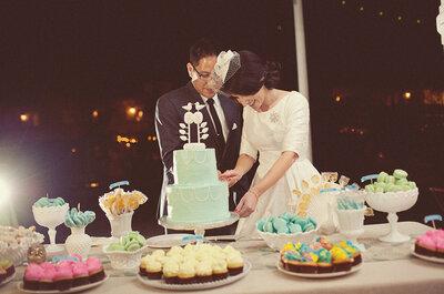 7 postres exitosos para una boda fantástica. ¡Dosis de dulzura!