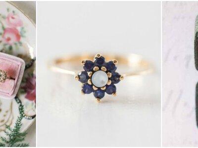 Verloben Sie sich mit einem Verlobungsring im Vintage-Stil. So zauberhaft!
