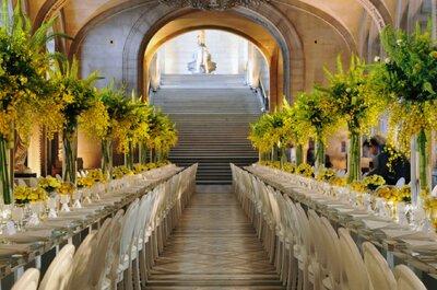 Trouvez les fleurs idéales pour vos tables de mariage avec JSH Déco !