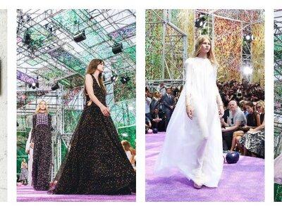 Dior Automne-hiver 2015-2016 : des créations vaporeuses et follement poétiques