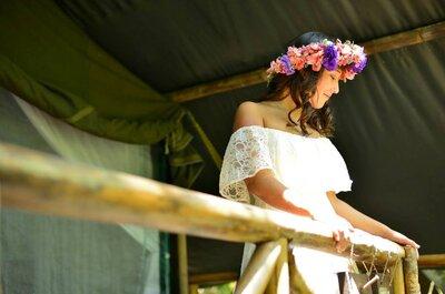 La boda bohemia de Ana Denisse y Gabriel en Jalcomulco Veracruz