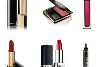 Свадебный макияж 2015: красная помада и не только