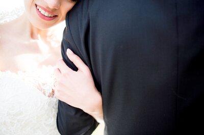 Catarina e Rui: amor recheado de elegância e romantismo!