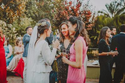 Descubre los aperitivos que no pueden faltar en tu boda. ¡Tus invitados quedarán encantados!
