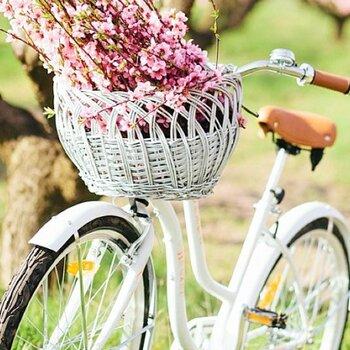 Casamento sobre duas rodas: bicicletas + noivos + amor
