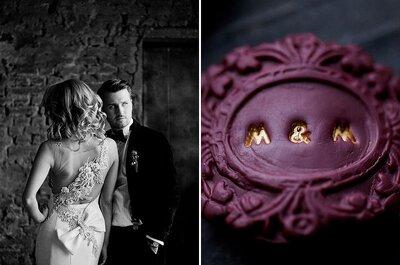 Женственность и элегантность: пурпурный цвет на свадьбе!