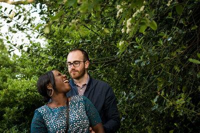 Jenny & Arron's 2015 Love of London engagement shoot