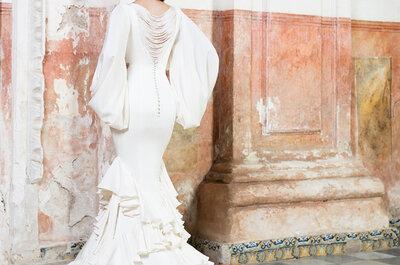 Apuesta por los flecos para tu vestido de novia y triunfarás
