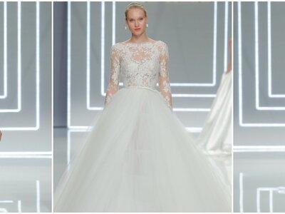 Lassen Sie sich von Rosa Clará Brautkleidern 2017 überraschen – Symmetrie vs. Kontraste