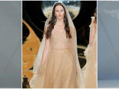Vestidos de novia de color 2017: Una oda a la mejor inspiración