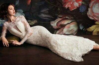 De norte à sul do globo: estilistas de vestido de noiva de se apaixonar