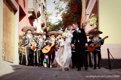 Planea la fiesta temática de tu boda a la mexicana