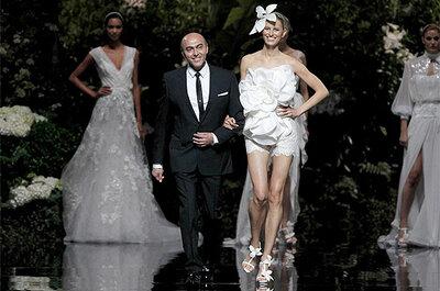 Najpiękniejsze suknie ślubne z Barcelona Bridal Week