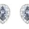 Un par de pendientes en cristal azul polveado para un toque muy elegante - Swarovski