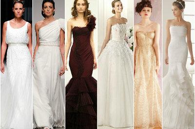 Najpiękniejsze suknie ślubne 2013 - przegląd kolekcji ślubnych