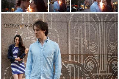 Sesión de fotos pre boda de Milena y Jonathan en Nueva York