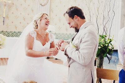 Découvrez le mariage plein d'émotion de Cindy et Bertrand dans la Drôme