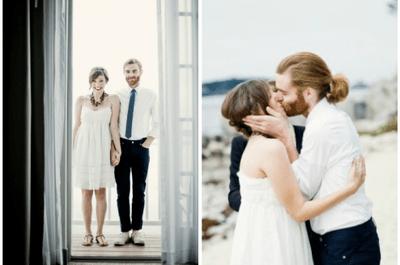 Vestidos de noiva para casamentos na praia