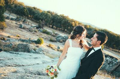 Hechos el uno para el otro: la boda de Sandra e Iván