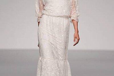 Vestido de noiva casual chic, by Paula del Vas