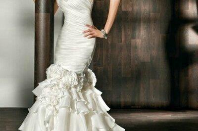 Versatile 2 in 1 Wedding Dresses by Demetrios Bride 2012