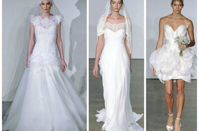 Marchesa Wedding Dresses Fall 2013: Dreamy and Demure