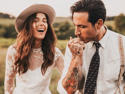 Whitney y Carlos: Una boda de ensueño al más puro estilo rústico