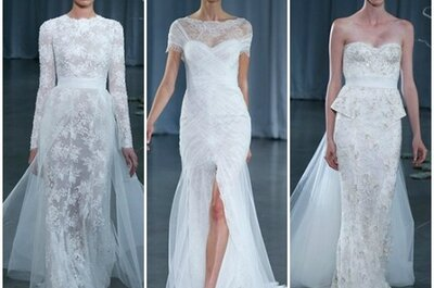 Monique Lhuillier Fall 2013 Bridal Collection, per la sposa romantica e glamour!