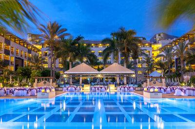 Los 8 mejores hoteles para bodas en Tenerife
