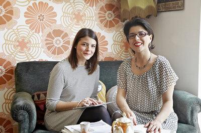 Si chiama Rosenvoile l'officina dei sogni di Camilla e Cristina, wedding planner a Roma