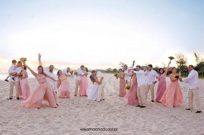 Como conseguir as melhores fotos em grupo no seu casamento em 6 dicas profissionais!