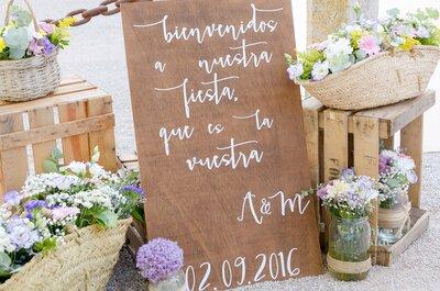 Con encanto valenciano: la boda de María y Alberto