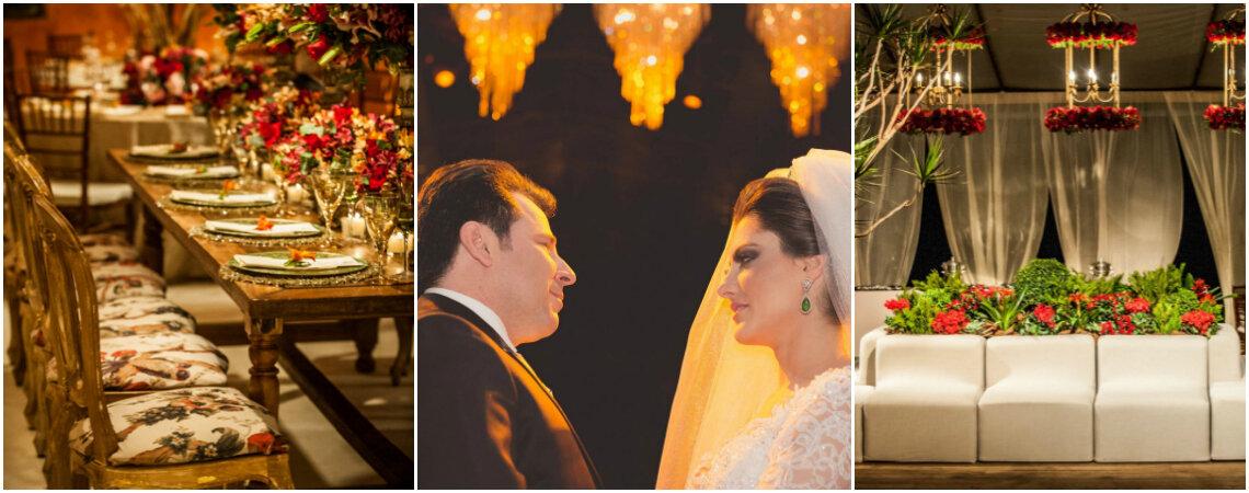 Casamento clássico de Cassia & Levi: luxo e requinte em Belo Horizonte!