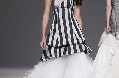 Vestido de noiva preto&prata, by Jordi Dalmau 2013