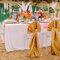 Decoración de boda inspirada en el Caribe - Foto: Danielle Capito