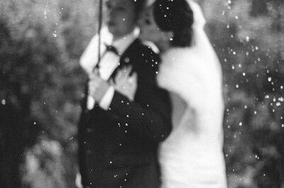 6 способов противостоять дождю в день свадьбы и обратить все в незабываемый опыт!