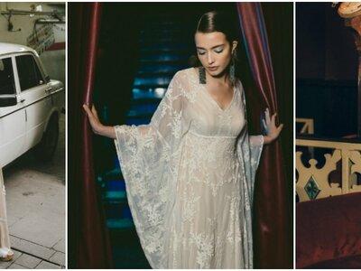 Vestidos de novia Otaduy 2017: el estilo glam rock que estabas esperando