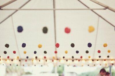 'Wedding trends': Todo lo que necesitas saber sobre decoración suspendida