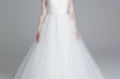 El vestido de novia ideal según tu tipo de cuerpo: TODO lo que debes saber
