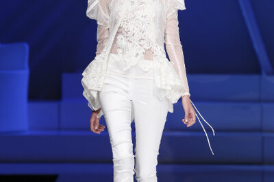 Selección Zankyou de pantalones para novias 2013