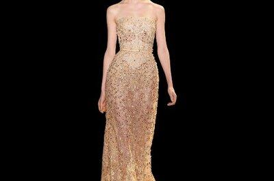 Elie Saab Haute Couture SS 2013 per sposa elegante