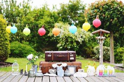 Come decorare il tuo matrimonio con le cornici: 7 idee utili a creare un ambiente unico