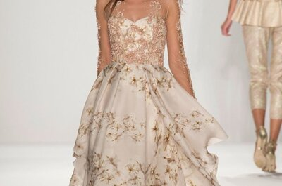 L'abito da sposa della settimana: dalla NY Fashion Week 2015, un Badgley Mischka da incanto