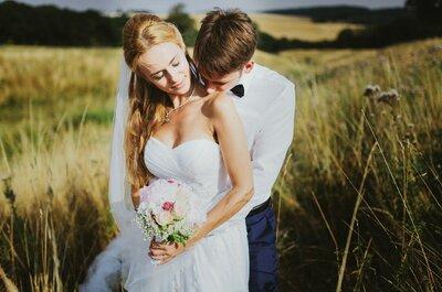 Birte & Flo: romantische Open-Air-Hochzeit in den Farben des Sommers