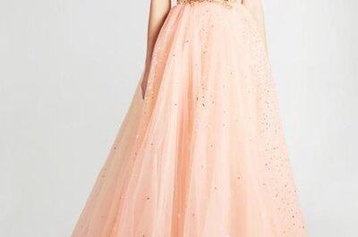 Vestidos de novia 2013 de Georges Hobeika en colores pastel