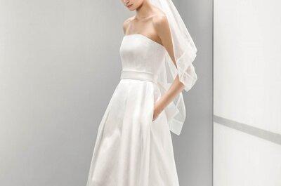 Suknie ślubne z kieszeniami