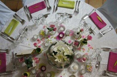 Serviettes de couleur pour vos tables de mariage : une option déco ?